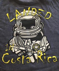 Mens Landed in Costa Rica Tee Shirt