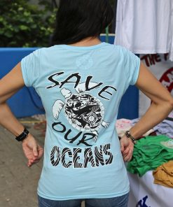 Women's Save Our Ocean Tee Shirt