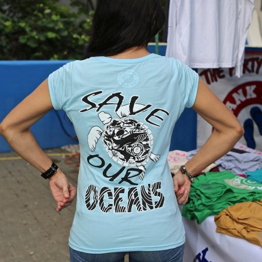 Women's Save Our Ocean Tee Shirt