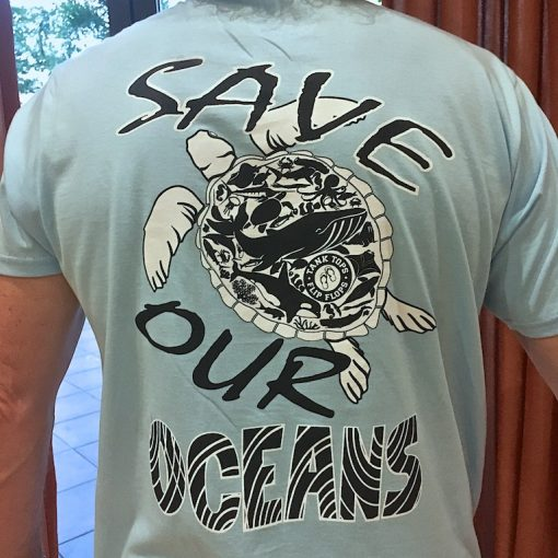 Mens Save Our Oceans Tee Shirt